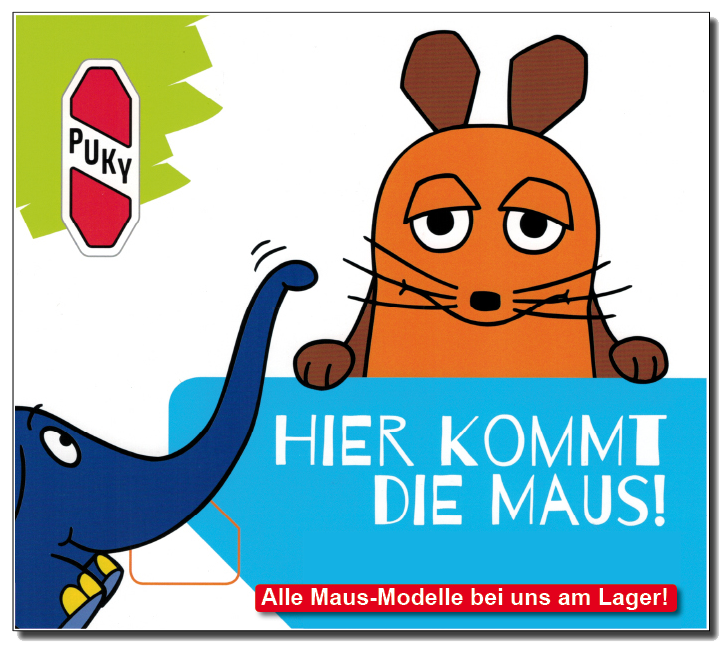 Die Puky Maus Modelle